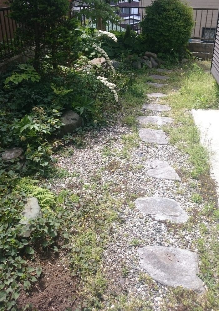 芝生育成 床土作り