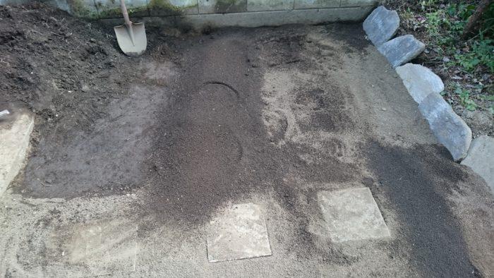 芝生 土作り