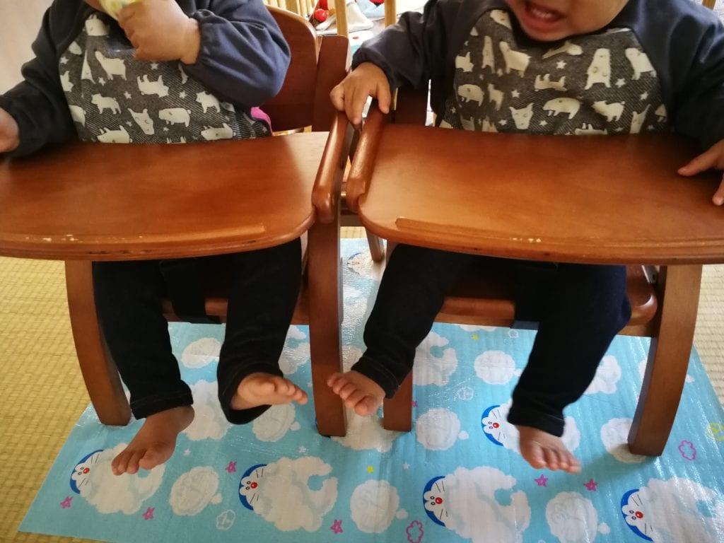 双子の育児は過酷