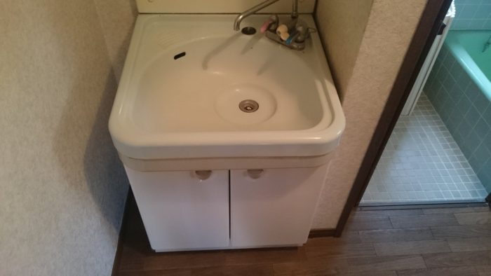 洗面台交換のdiy