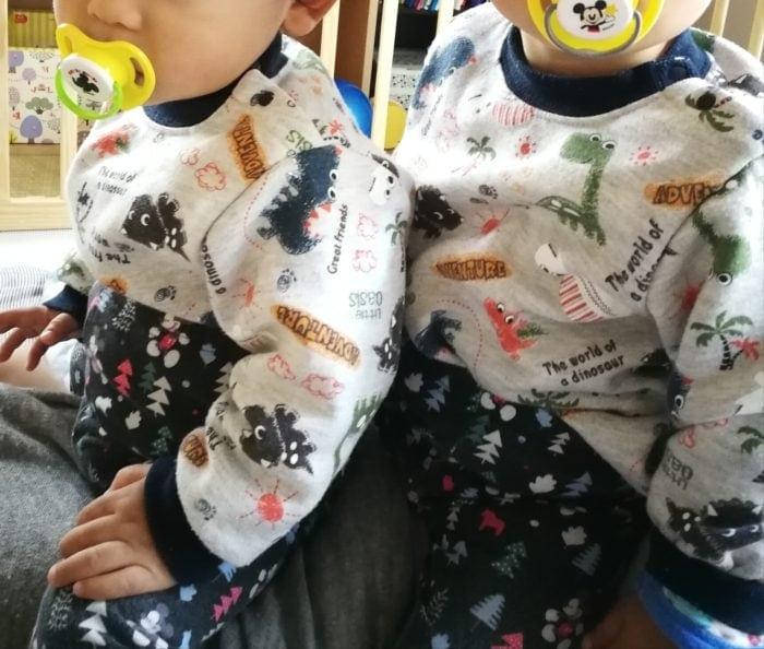 双子 一歳