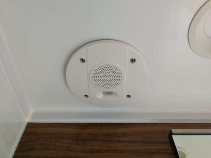 トクラス 浴室のスピーカー