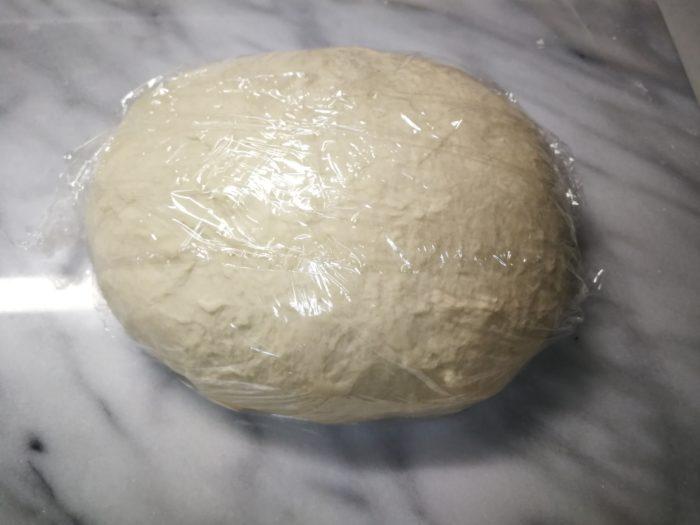 ピザ生地 一次発酵