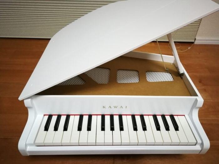 カワイのミニピアノ 32鍵盤