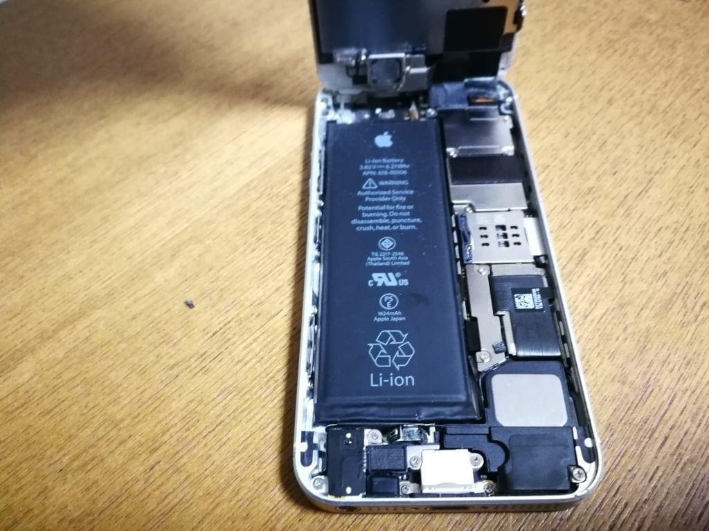 iphoneSE修理 カバー