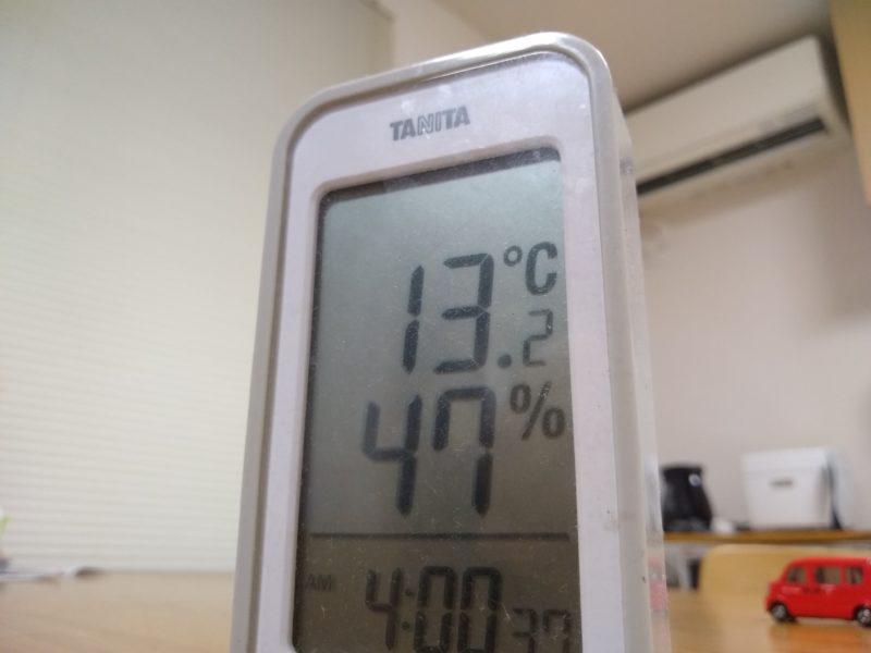 エアコンで湿度が下がる