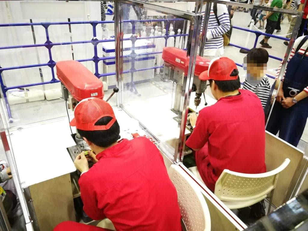 トミカ博 組立工場