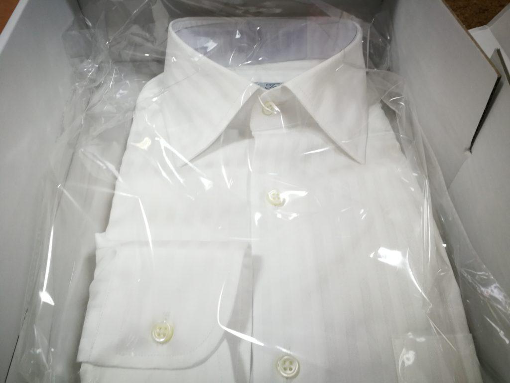 suit-yaのオーダーシャツが届いた