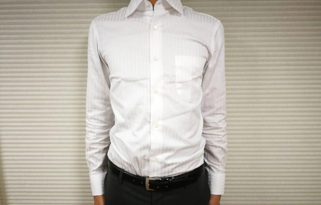 オーダーシャツのサイズ感