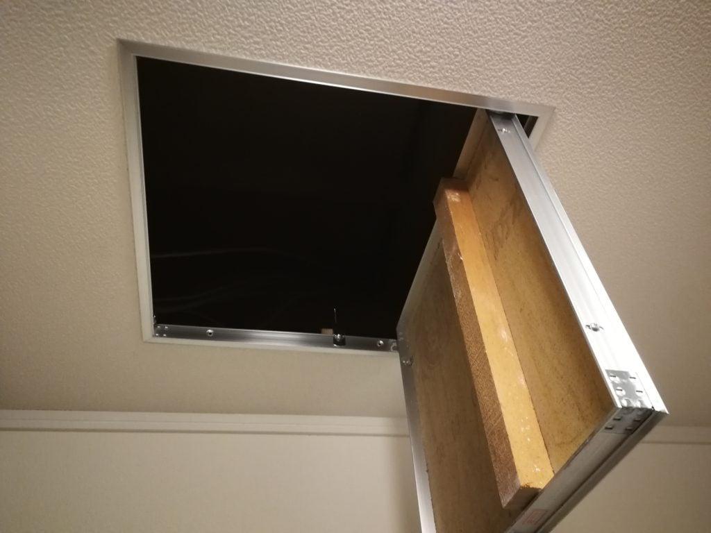 天井に点検口をDIY