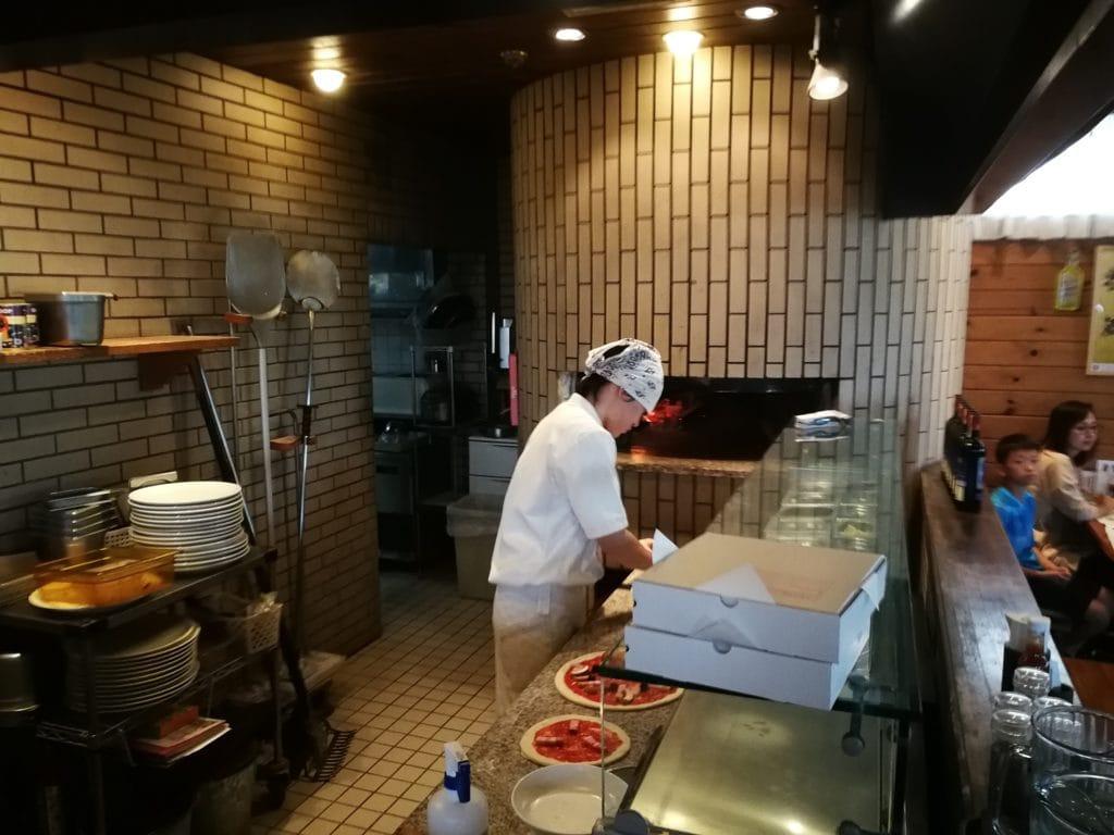 オールドヒッコリー ピザ窯