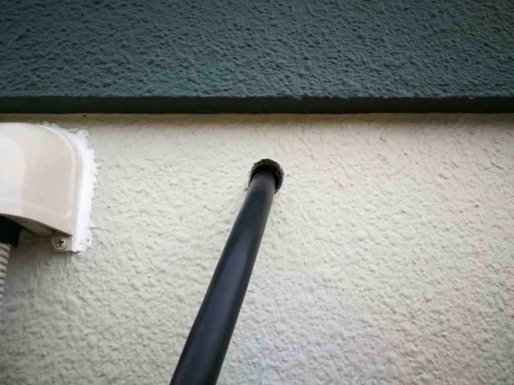 幹線 外壁 貫通