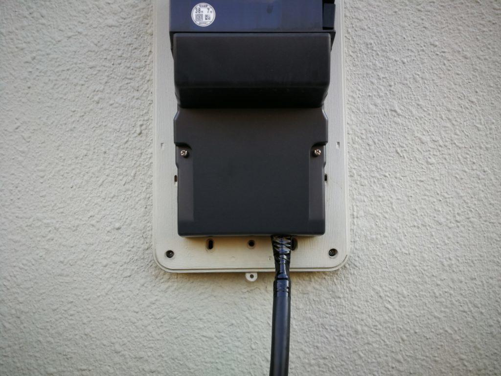 幹線交換 電力量計