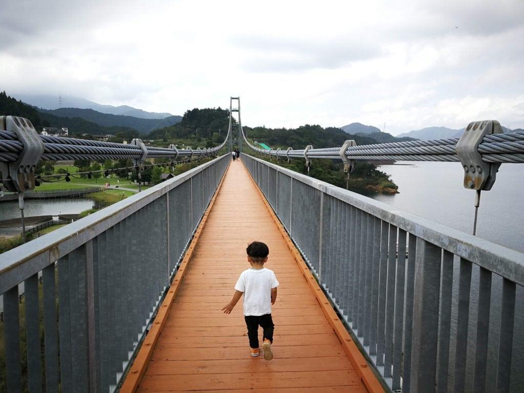 水の郷大吊り橋 宮ヶ瀬