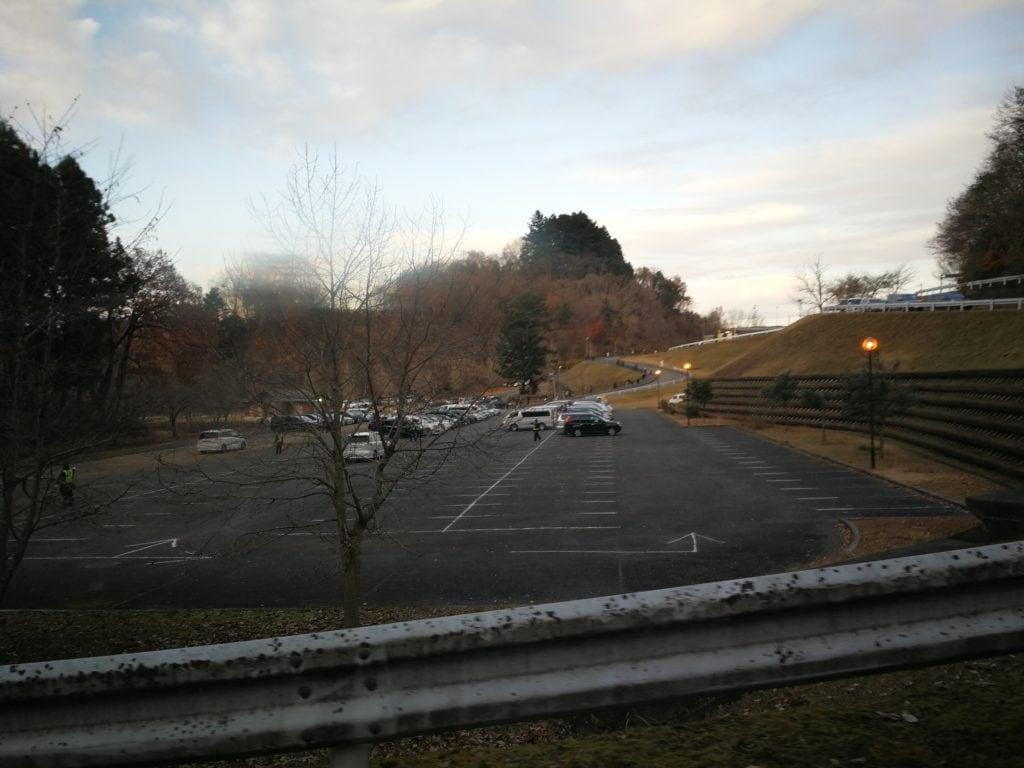 宮ヶ瀬湖畔園地 駐車場