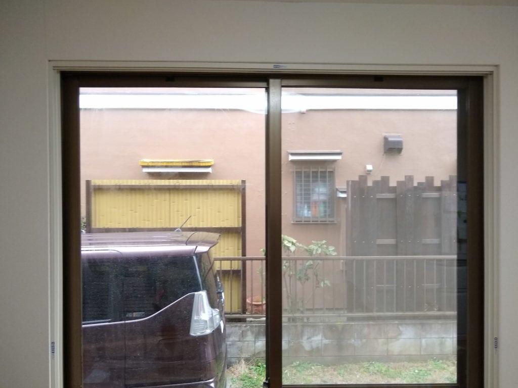 内窓枠の完成