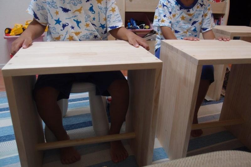 ウルムスツール テーブル