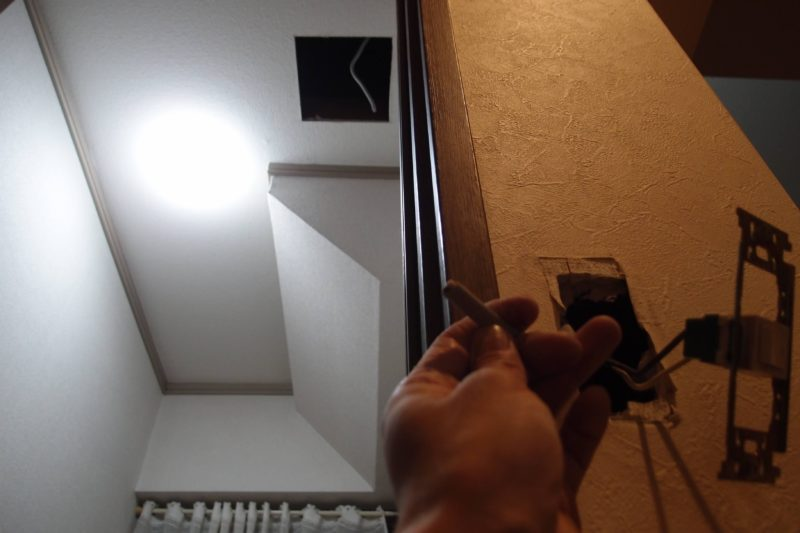 換気扇 スイッチ 配線