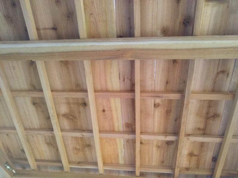 茶室 天井