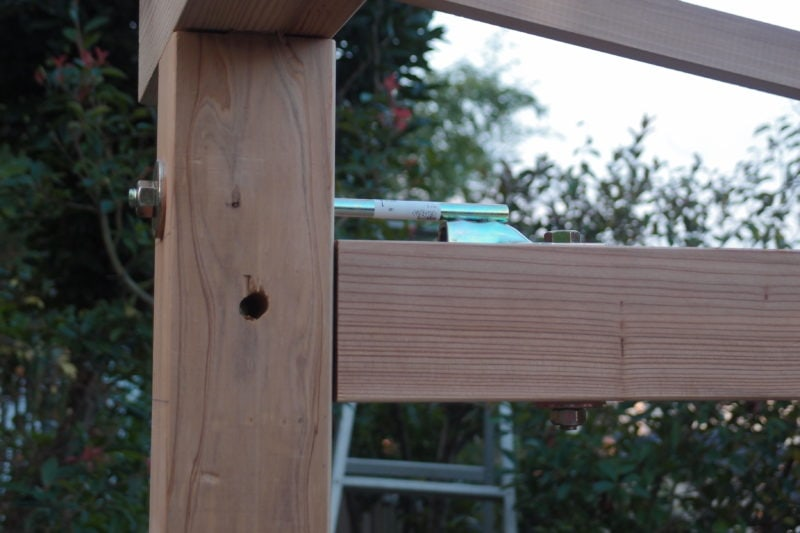 羽子板ボルト 小屋梁