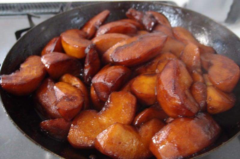 タルトタタン リンゴの炒め