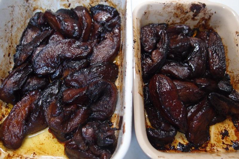オーブン後 タルトタタン 仕込み