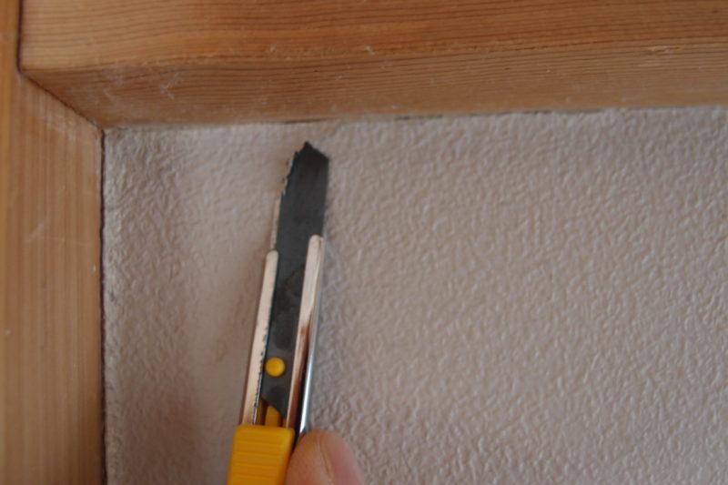 壁紙剥がし カッター