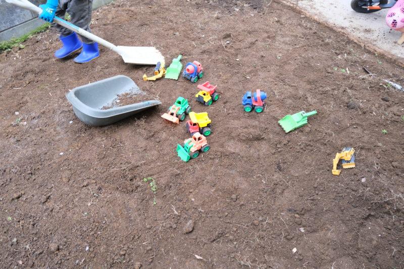 芝生貼り替え 子供