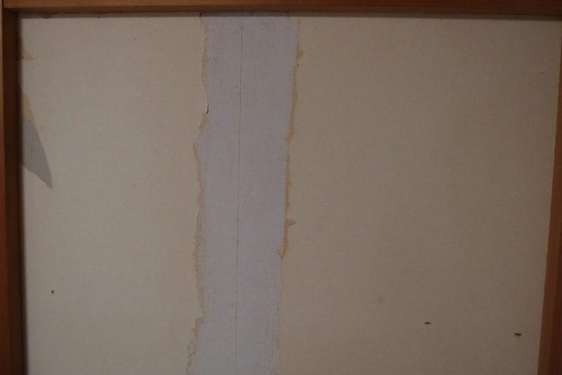 石膏ボード パテ 壁紙つかない