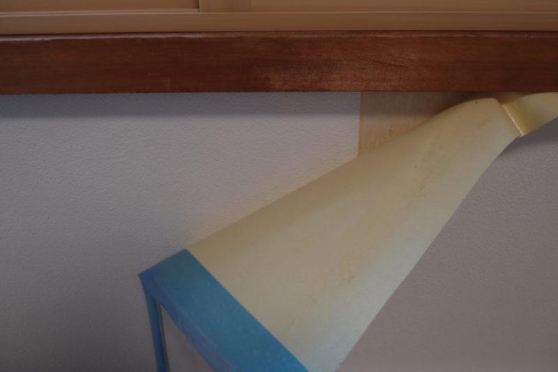 壁紙 繋ぎ目部分
