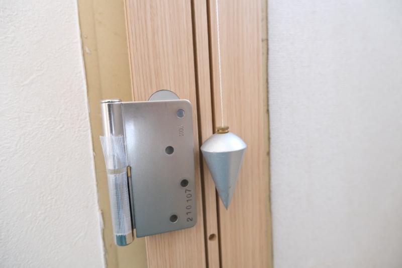 振り下げ ドア交換
